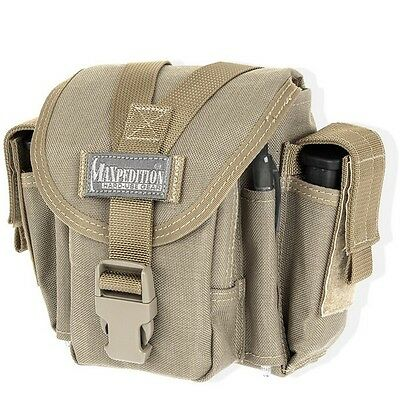 Maxpedition M4 Khaki 0313K Waist Pack Utility Carry Bag Hunting Fishing