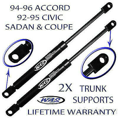 2 Rear Trunk Lid Lift Supports Shock Strut Arm Rod For Accord Civic Sedan Coupe