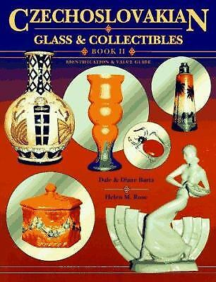 Czechoslovakian Glass and Collectibles by Dale Barta