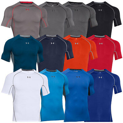 Under Armour 2017 Mens UA HeatGear Armour SS Compression Shirt Base Layer T