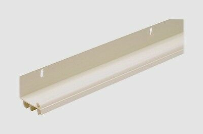 "New 43816 M-D Building 36"" White L-SHAPED Door Bottom WEATHER Draft SEAL w/ Fins"