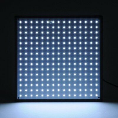 225 SMD LED Grow Light Hydroponic Plant Veg Indoor Ultrathin Panel White Lamp