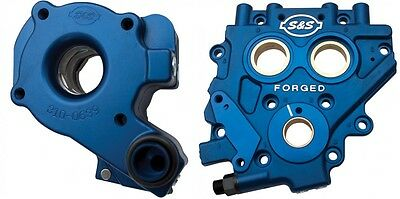 S&S Cycle TC3 Cam Support Plate & Oil Pump Kit for Harley Twin Cam 07-15