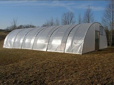 16 x 16 ft Greenhouse - Quonset Kit - Hoop House - Cold Frame - High Tunnel