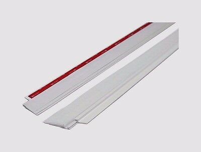 "New 43301 M-D Building 36"" 3' WHITE Cinch STICK ON DOOR Weather Draft SEAL Sweep"