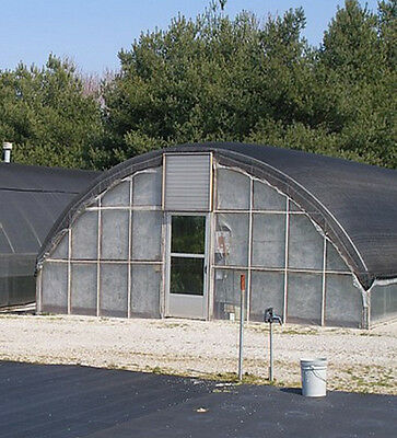 16 x 72 ft Greenhouse - 3.5 ft Low Sidewall High Tunnel Kit Cold Frame Package