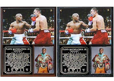 "Floyd ""Money"" Mayweather Undefeated Champion Photo Plaque"