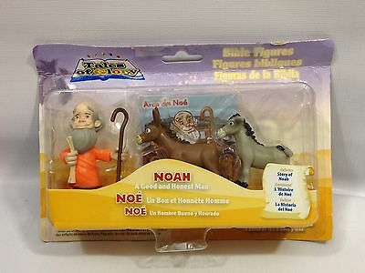 Tales Of The Glory Bible Figures - Noah With Story - Christian Educational Toys