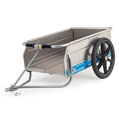 Tipke Foldit 2100 Collapsible Cart / Trolley with Quad / ATV / Mower Tow Hitch