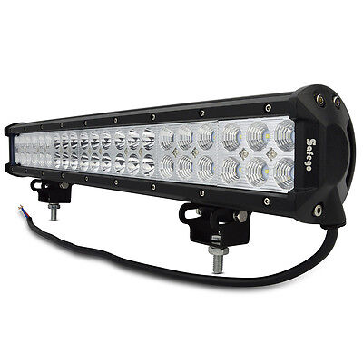 CREE 20 inch 126W LED LIGHT BAR COMBO Offroad DRIVING LAMP 4WD WORK ATV UTE 12V