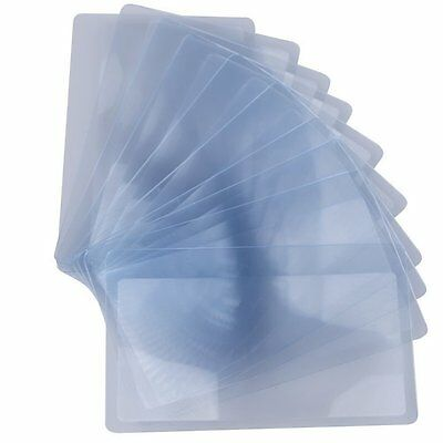 Pack of 10pcs Credit Card Sized Magnifying Lenses Wallet Magnifiers 3X Lenses