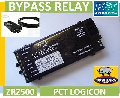 Towing Bypass (interface) Relay PCT Logicon ZR2500 7 Way Universal Smart relay
