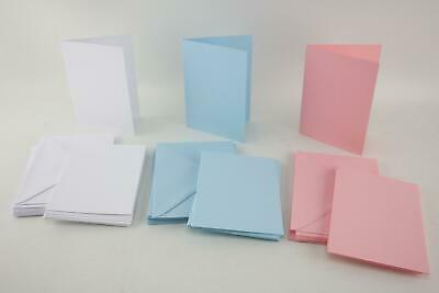 Craft UK Blank A6 Card Making Greetings Christmas Cards And Envelopes