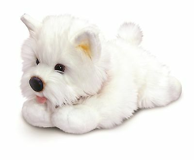 Keel Toys Signature Puppies 30cm Westie Dog Cuddly Soft Toy SD4573