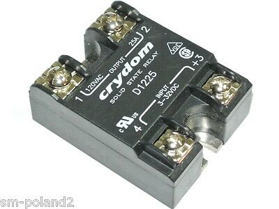 D1225 CRYDOM SOLID STATE RELAY - NEW -  [QTY=1pcs]