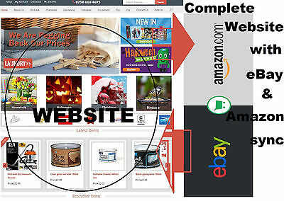 website ebay amazon shop integration sync inventory repricer listing template