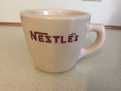 NESTLE'S Chocolate Coffee Cup Mug - Sterling China - J.L. Pasmantier & Sons