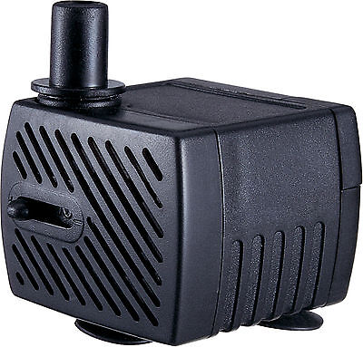 Jebao 250 L/hr Mini Submersible Pump for Aquarium or Small Water Features AP333