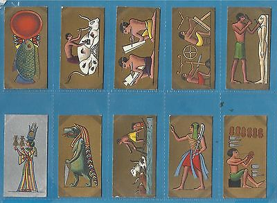 Original Cavanders cigarette cards - ANCIENT EGYPT - 1928