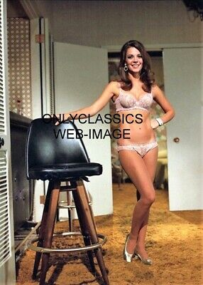 Natalie Wood Wearing Only Bra & Panties Photo Pinup Cheesecake Big Smile Beauty