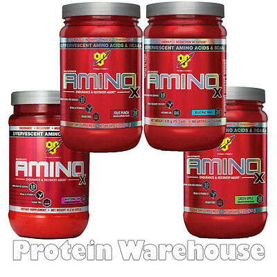 BSN Amino X 435g 30 Servings AminoX Energy Drink For Gym Training