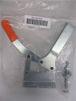 Lapeer Mfg. Co. - Knu-Vise H-601 Horizontal Toggle Clamp