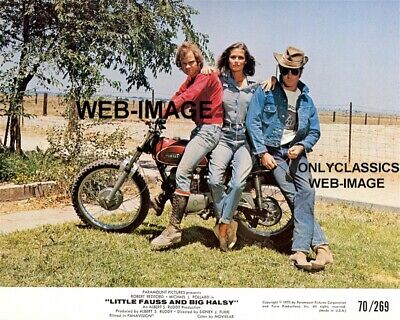 1970 Little Fauss And Big Halsy Yamaha Dirt Bike Motorcycle Racing Photo Redford
