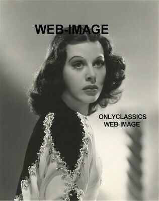 1941 Sexy Beautiful Gorgeous Hedy Lamarr Movie Star Glamour Portrait Photo Pinup