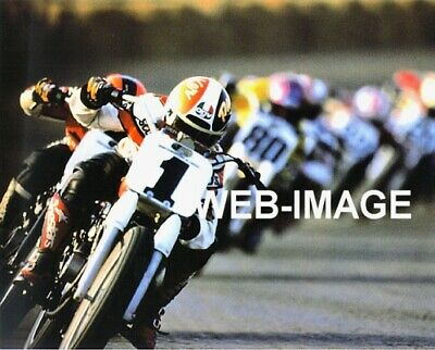 1998 Ama Plate #1 Scott Parker Harley Davidson Motorcycle Photo Racing Cycles