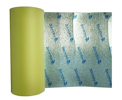 10 x 1m Self Adhesive Thermal Acoustic XPEMP Foam Insulation Loft Caravan Van