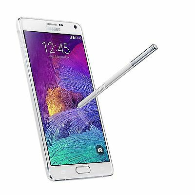 Unlocked Samsung Galaxy Note 4 - 4G LTE 32GB SM-N910A AT&T T-Mobile Phone WHITE
