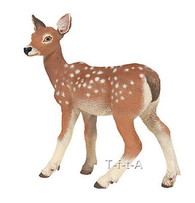 FREE SHIPPING | Papo 53015 Fawn Deer Toy Replica - New in Package