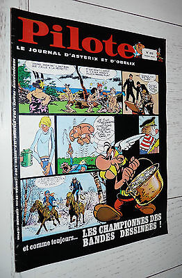 Pilote Eo N°470 07/11 1968 Pilotorama Guerre 14/18 Gotlib Asterix Gebe Blueberry