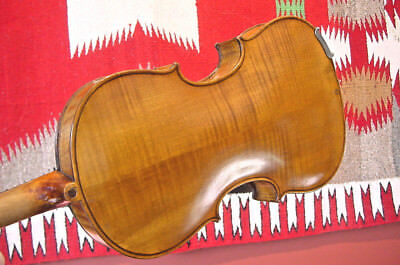 Retroflashbacks Antique Violin  4/4 Fiddle With Bow And Case American ?