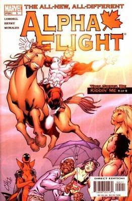 Alpha Flight #5 (Sep 2004, Marvel)