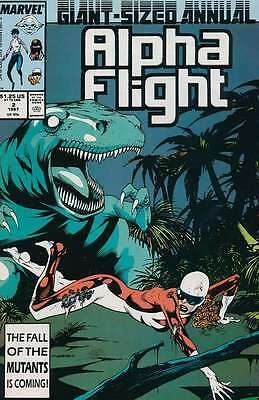 Alpha Flight Annual #2 (1987, Marvel)