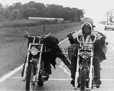 Easy Rider Captain America Motorcycle Chopper Harley Davidson Photo Fonda Hopper
