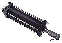 """Tailgate Air Cylinder   2-1/2""""DIA.X8""""STROKE CYL W/CLVS"""