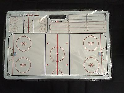Hockey Dry Erase Coaching Board With 4 Suction Cups
