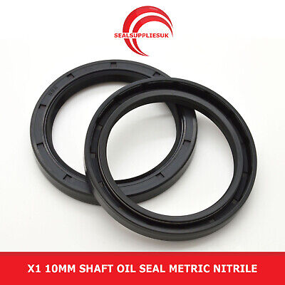 Rubber Metric Rotary Shaft Oil Seal 28x50x10mm