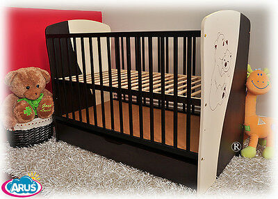 Baby cots Mokate with drawer + coconut foam mattress Cot mattress cot for sale