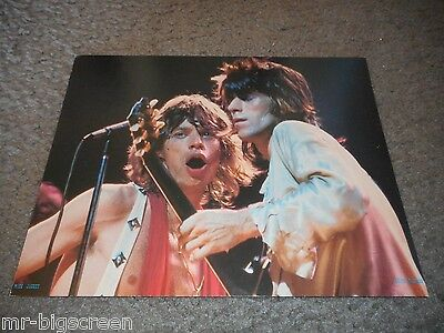 "Rolling Stones - Original 1973 Rising Signs Large Poster Card #3 - 8 1/2"" X 11"""