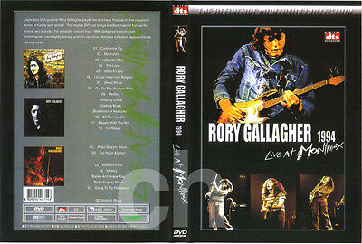 RORY GALLAGHER - Live at Montreux 1994 DVD NEW