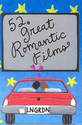 52 Great Romantic Films by Lynn Gordon (English) Hardcover Book Free Shipping!