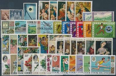 Cook Islands stamp 1949-1968 45 stamps MNH 1949 WS186475