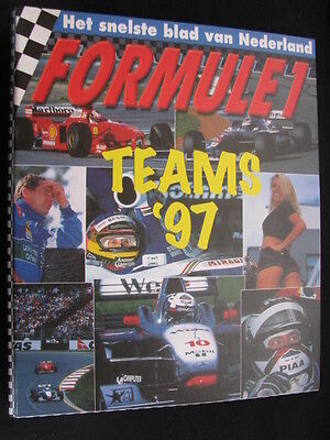 Formule 1 de Teams '97 (1997) in fraaie multomap