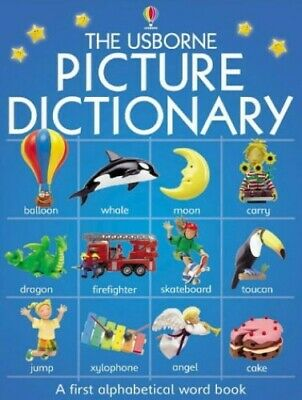 Picture Dictionary (Usborne Everyday Words) by Brooks, F. Hardback Book The