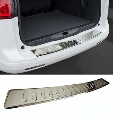 VW Passat B8 Estate Rear Bumper Protector Guard Trim Cover Chrome Sill