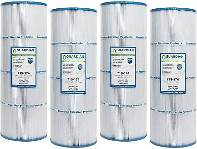 4 PACK POOL FILTER FIT: C-7483 Hayward SwimClear C3025 CX580XRE Cartridge PA81