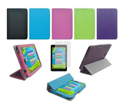 Folio Skin Cover Case and Screen Protector for Dell Venue 7 3740 Tablet